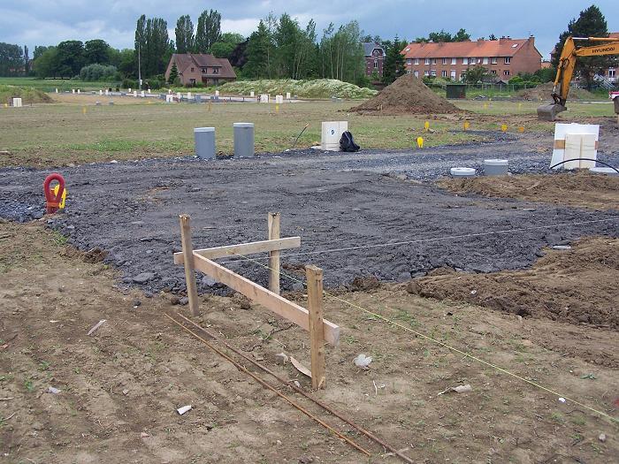 implantation maison et acc s chantier construire avec